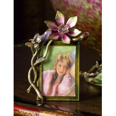 2x3 Bouquet Picture Frame in Rose Celadon by Jay Strongwater