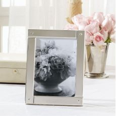 Silver Overlap Picture Frame by Ralph Lauren