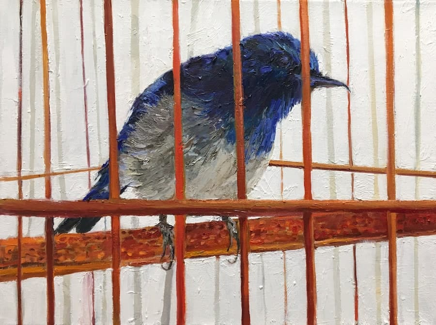 Blue Bird by Adele Grodstein