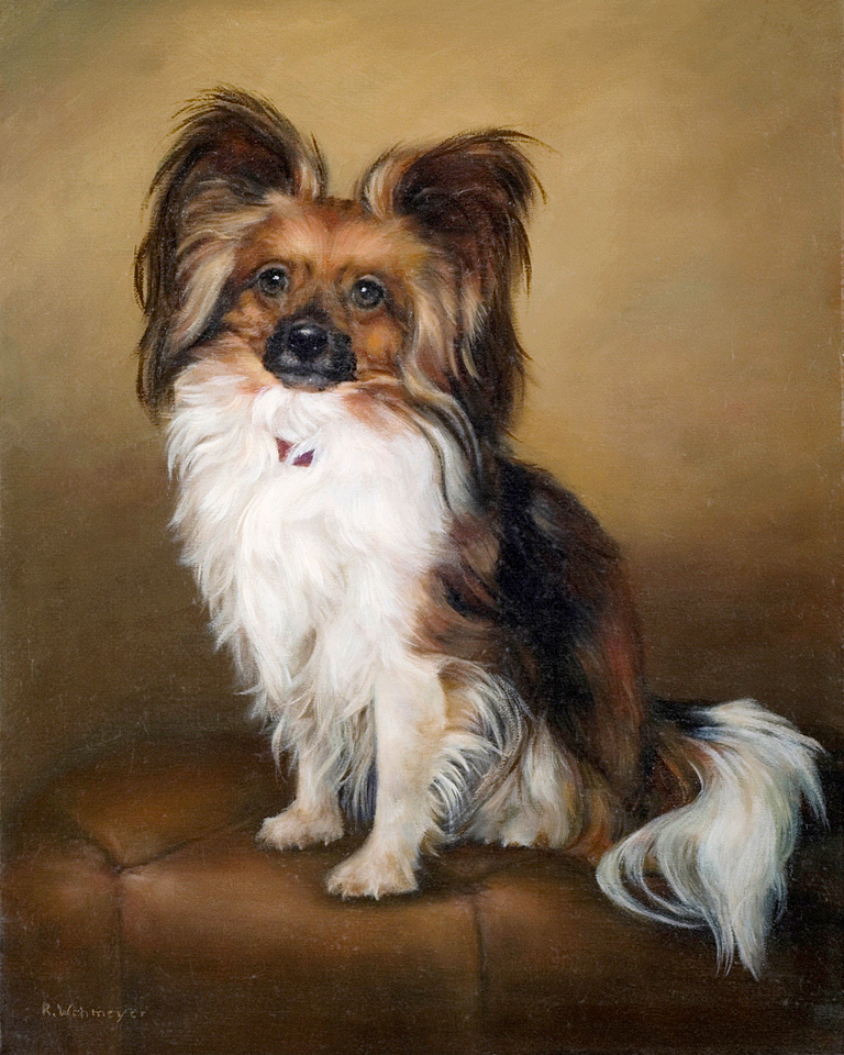 Dog Portrait Painting